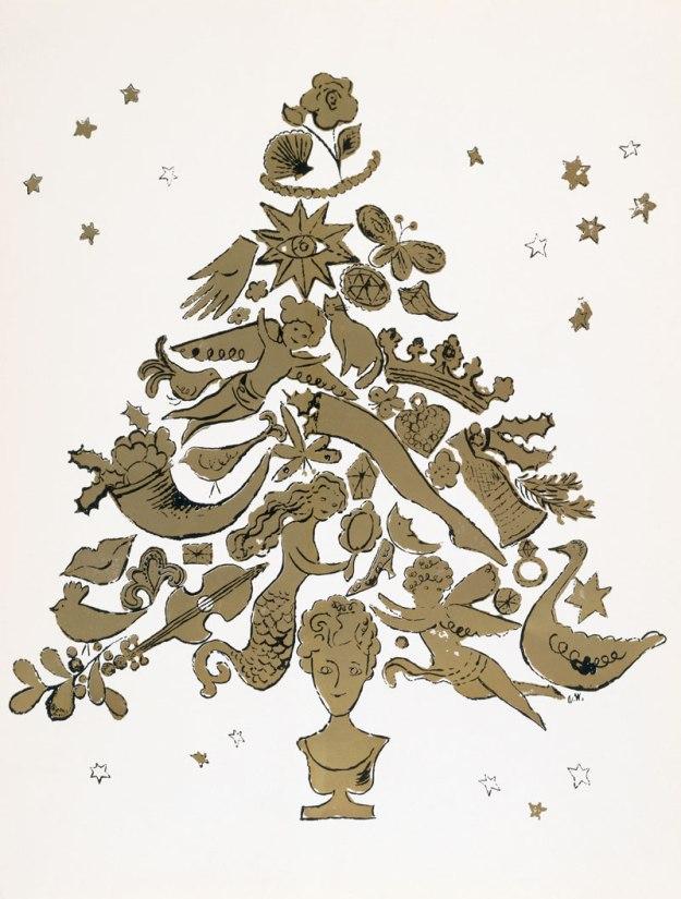 andywarhol_christmastree